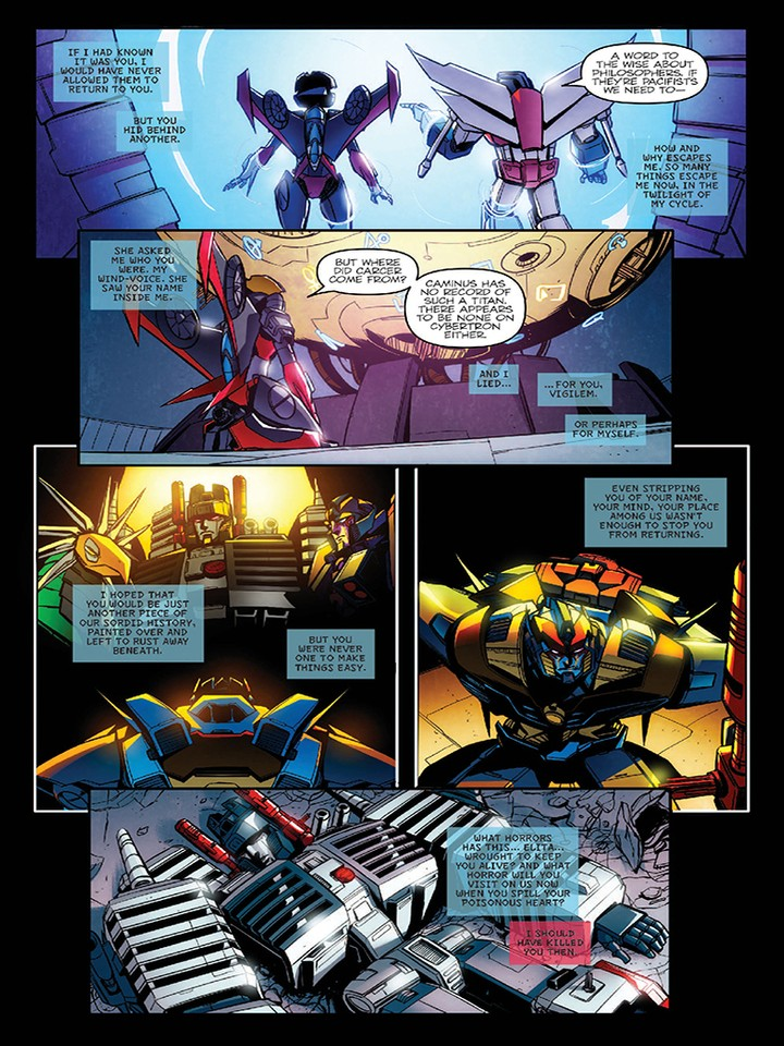 Transformers News: IDW Transformers: Till All Are One #8 3 Page iTunes Preview