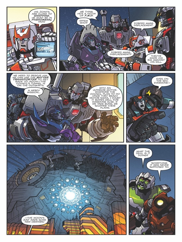 Transformers News: IDW Transformers: Lost Light #4 3-Page Preview