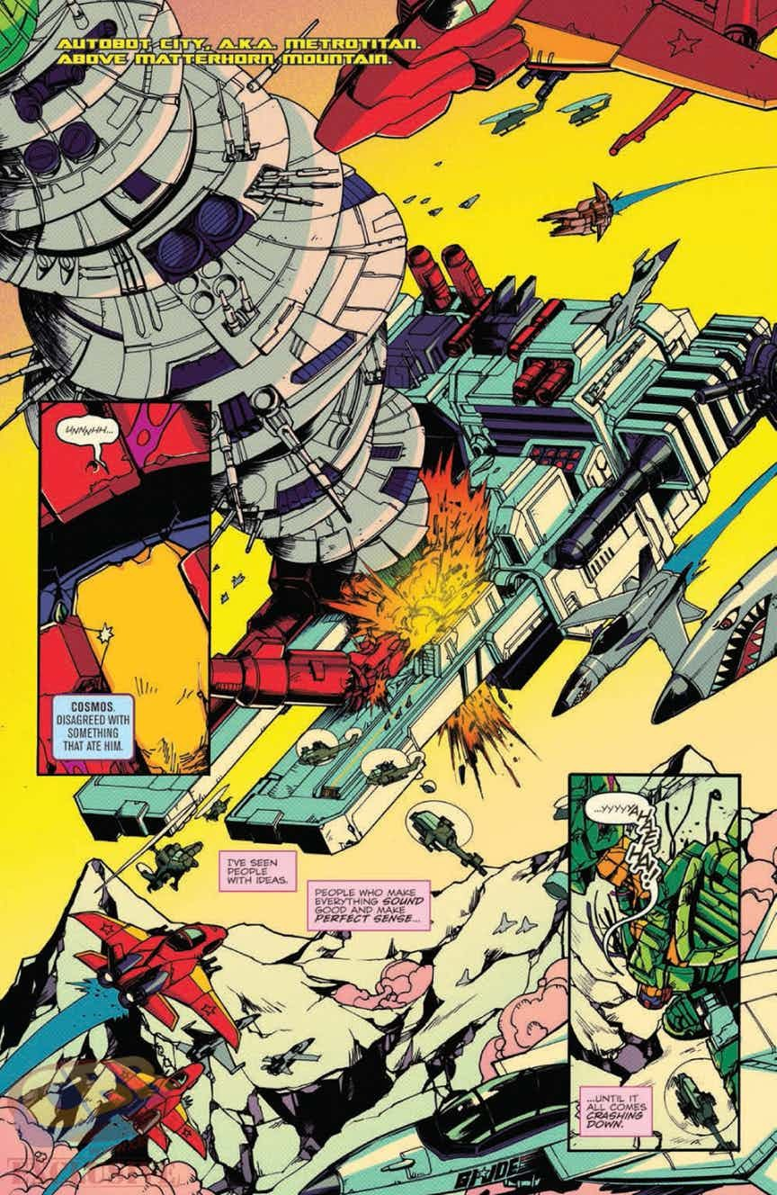 Transformers News: Full Preview - IDW Optimus Prime #5
