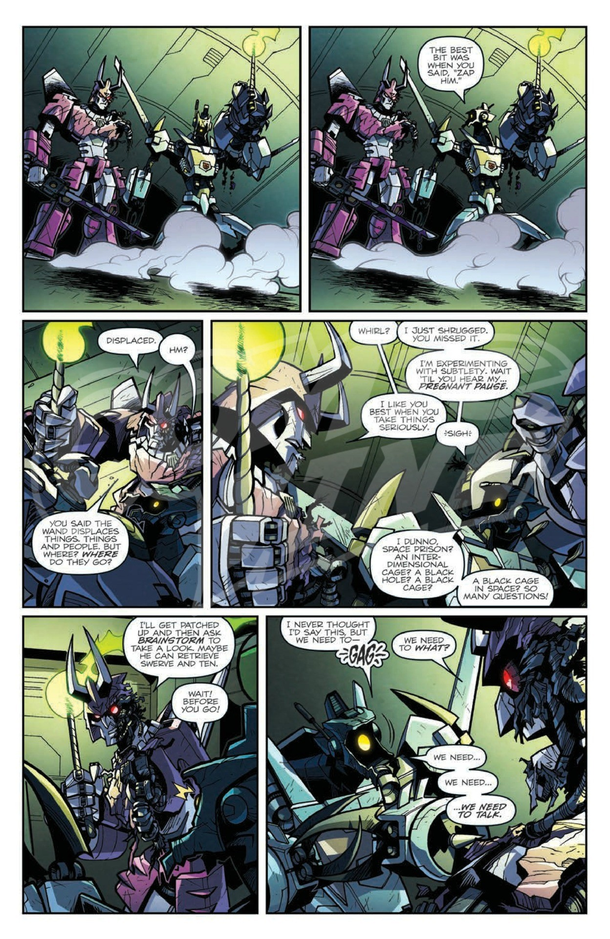 Transformers News: IDW Lost Light #4 Full Preview