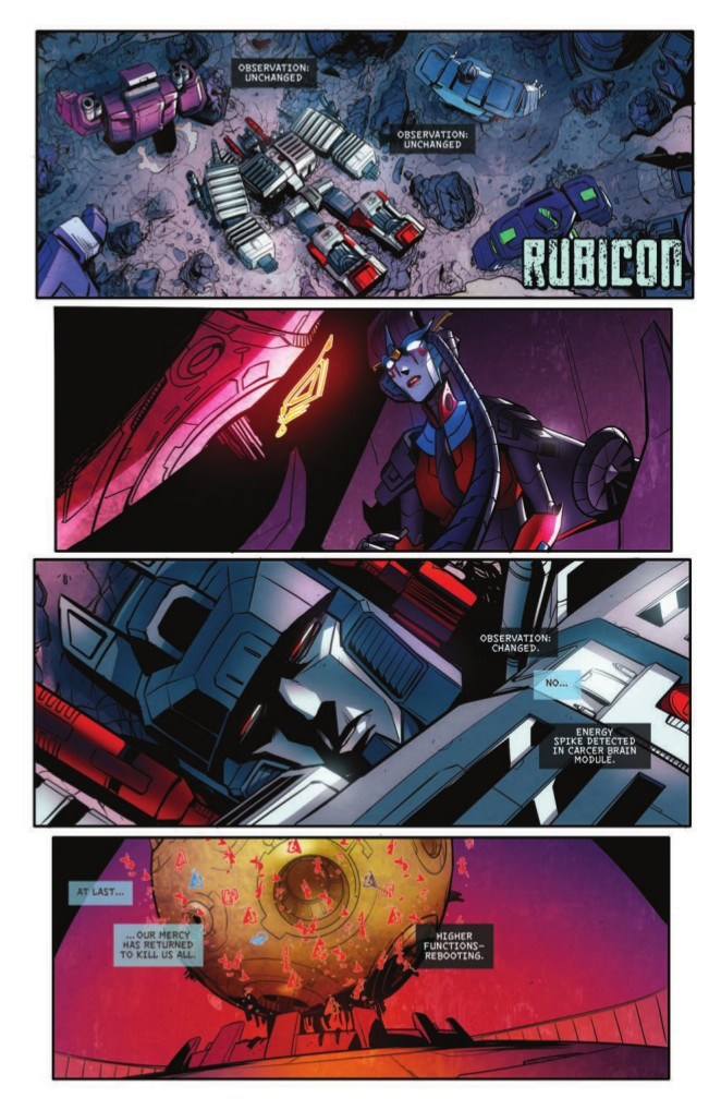 Transformers News: IDW Transformers: Till All Are One #8 Full Preview