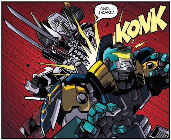 Transformers News: IDW Transformers: Lost Light #4 Review