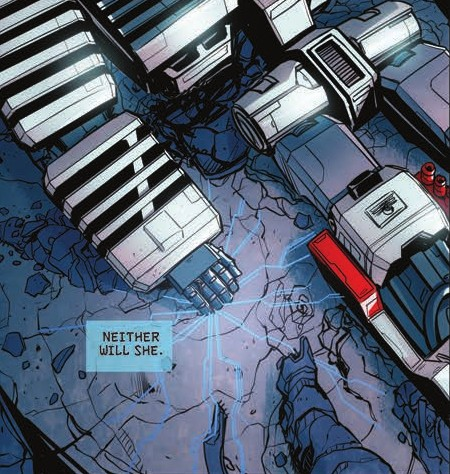 Transformers News: Review of IDW Transformers: Till All Are One #8