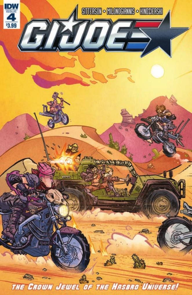 Transformers News: IDW Hasbro Universe - Preview for GI Joe #4 (#TCJHU)