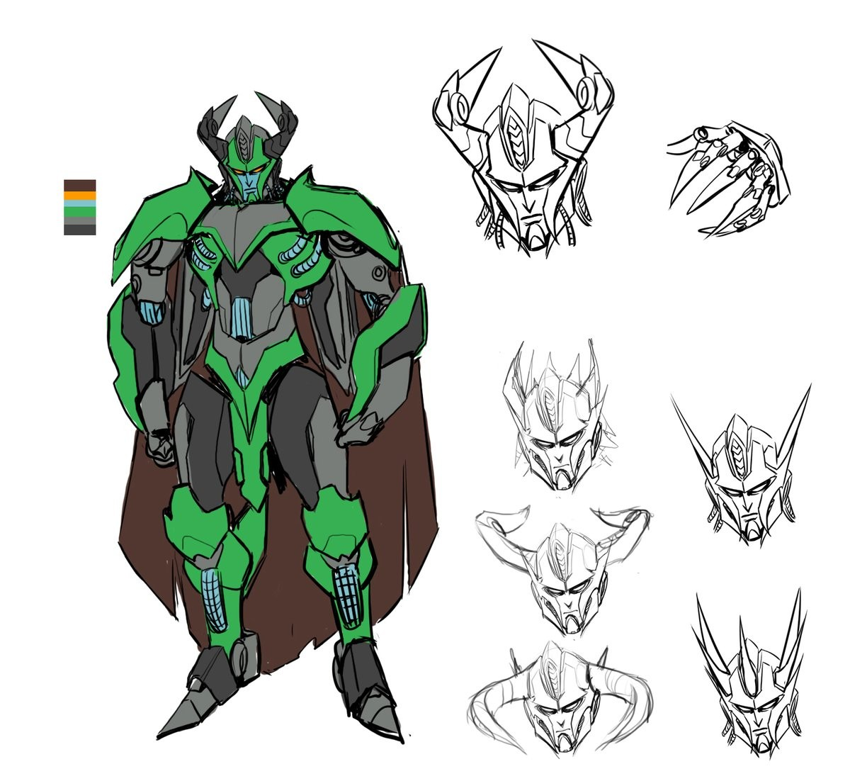 Transformers News: IDW Transformers: Till All Are One Liege Maximo Design by Sara Pitre Durocher