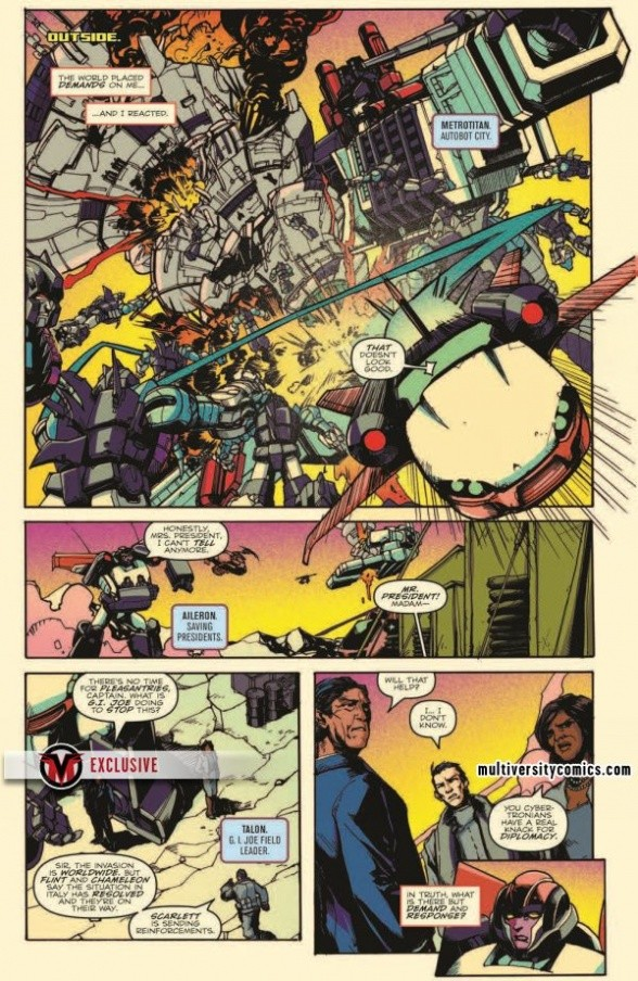 Transformers News: Full Preview - IDW Optimus Prime #6