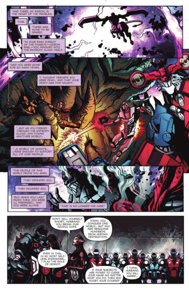 Transformers News: Full Preview of IDW Micronauts: Wrath of Karza #1, feat. Transformers and Hasbro Universe