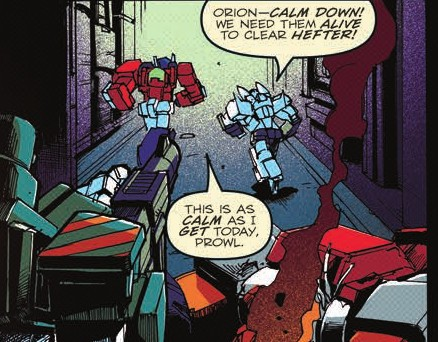 Transformers News: Review of IDW Optimus Prime #6