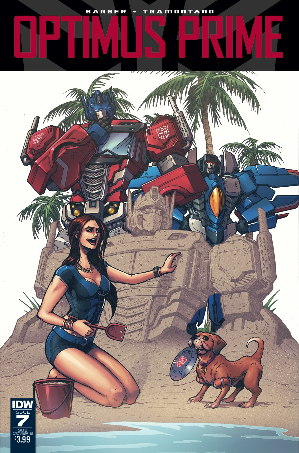 Transformers News: Variant Covers for IDW Optimus Prime #7 by Kei Zama/Josh Burcham, Andrew Griffith