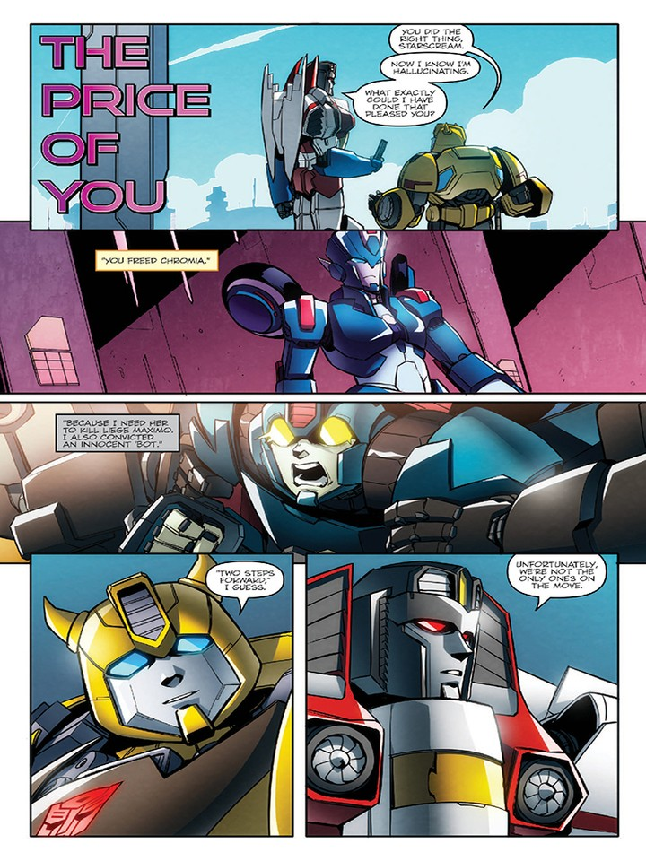 Transformers News: IDW Transformers: Till All Are One #10 iTunes Preview
