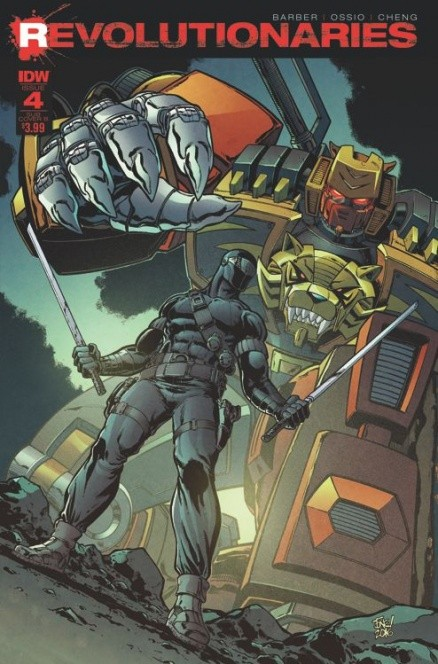 Transformers News: Full Preview for IDW Revolutionaries #4