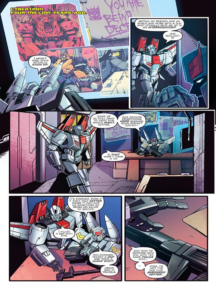 Transformers News: Preview for IDW Optimus Prime 7