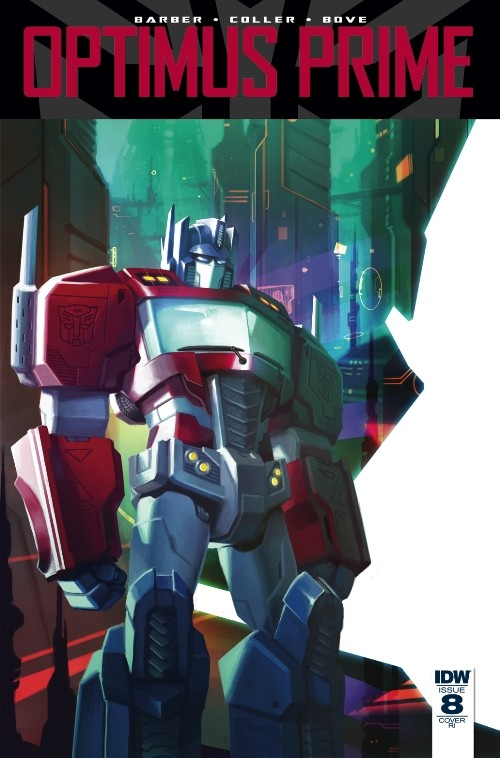 Transformers News: IDW Optimus Prime #8 Covers Revealed