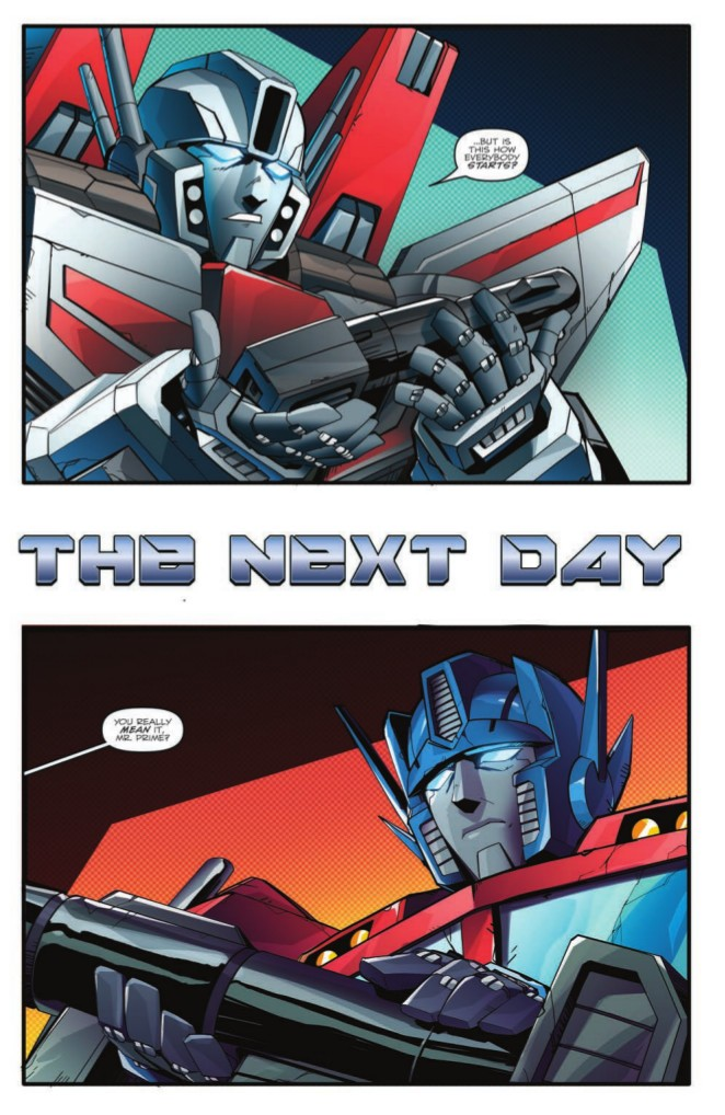 Transformers News: Full Preview for IDW Optimus Prime #7