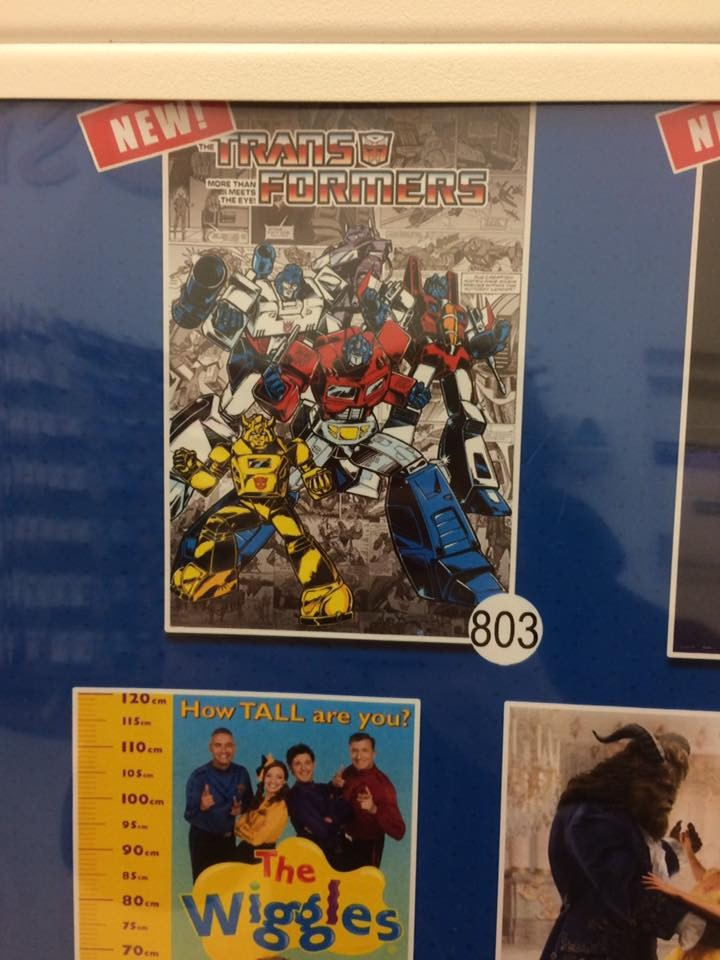 Transformers News: Marvel G1 Style Poster Found at Australian Retail