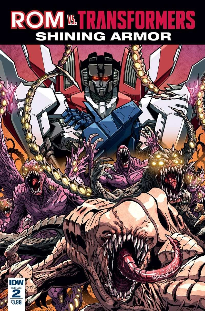 Transformers News: IDW Transformers and Hasbro Universe Comics Solicitations for August 2017