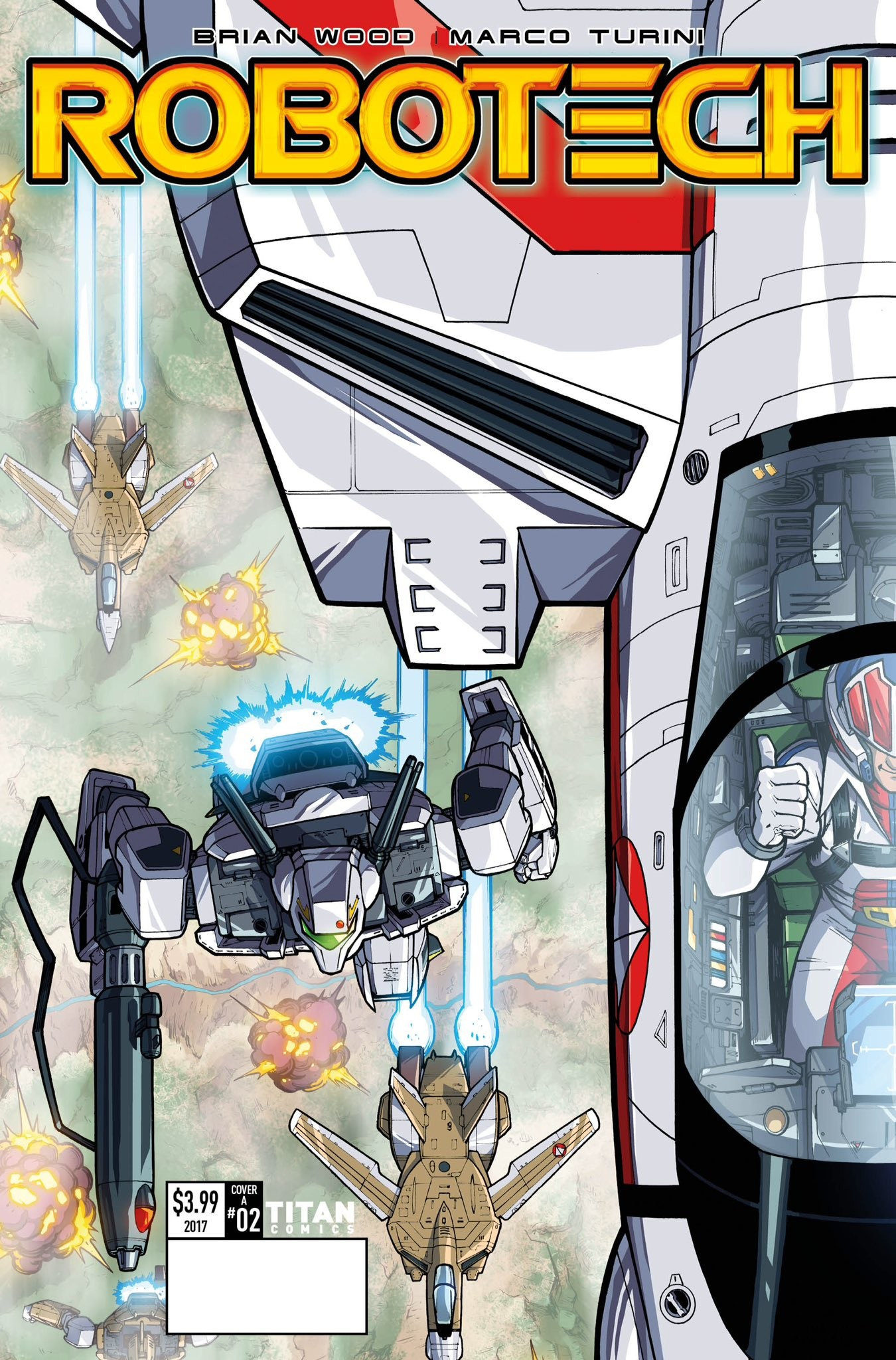 Transformers News: Nick Roche and Josh Perez Cover for Titan Comics Robotech #2