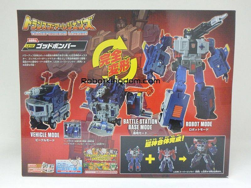 Transformers News: In-Package Images of Takara Tomy Transformers Legends LG-42 Godbomber