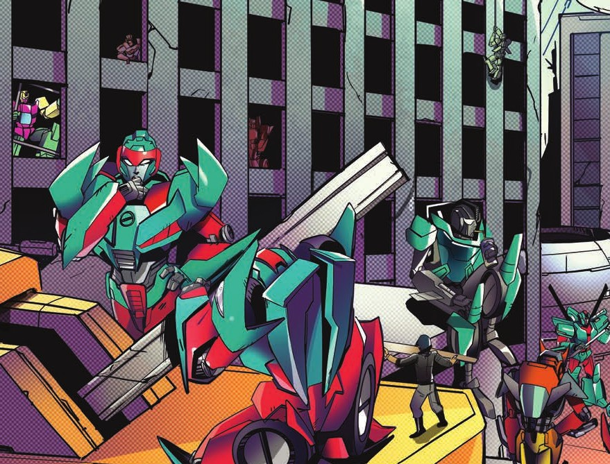 Transformers News: Review of IDW Optimus Prime #7