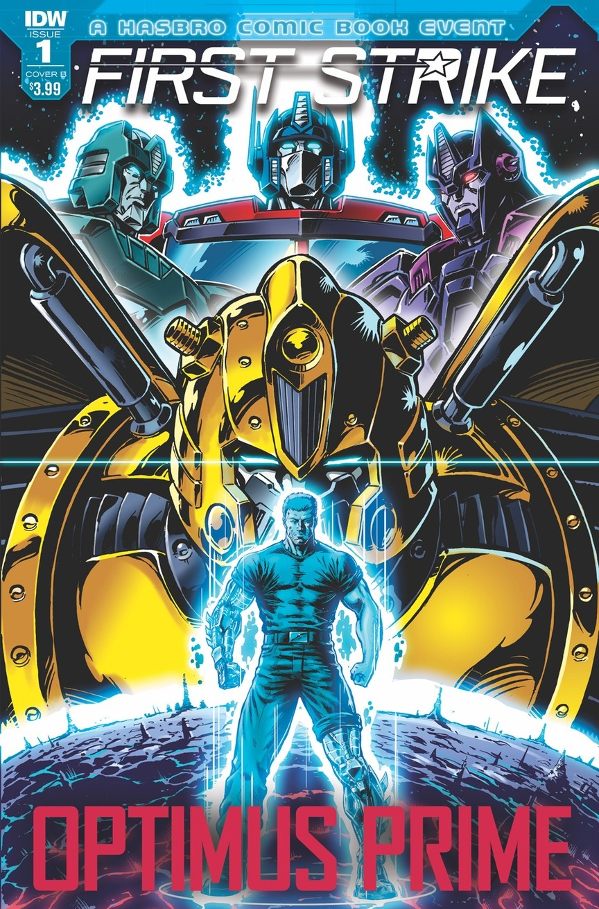 Transformers News: IDW Hasbro Universe: First Strike Details - New GI Joe, Tie-Ins, Covers, More