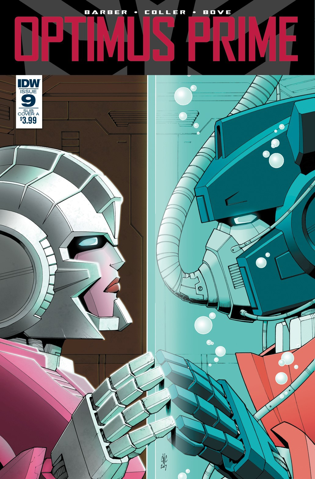 Transformers News: Variant Covers for IDW Optimus Prime #9