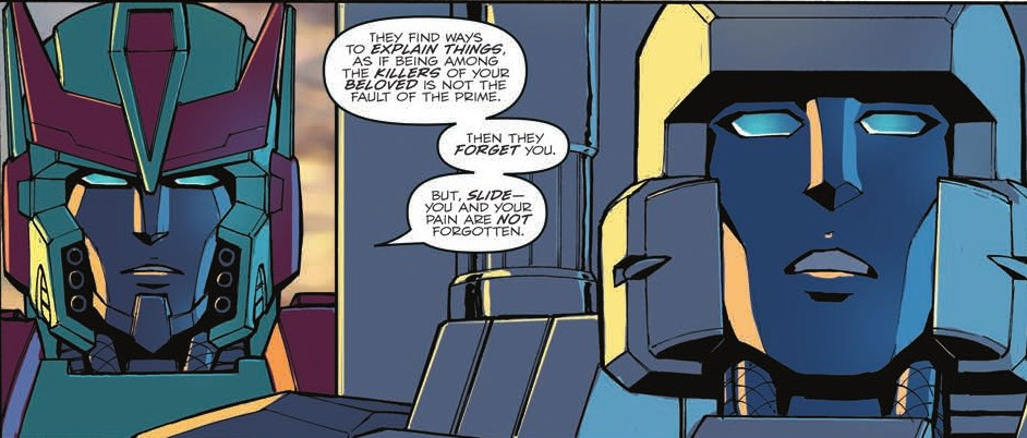 Transformers News: Review of IDW Optimus Prime #8