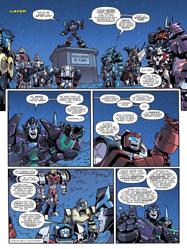 Transformers News: IDW Lost Light #7 Sneak Peek