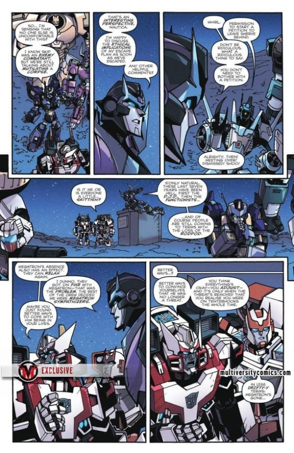 Transformers News: Full Preview for IDW Transformers: Lost Light #7