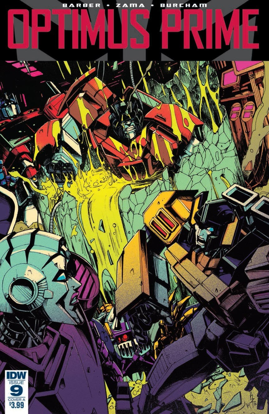 Transformers News: Full Preview of IDW Optimus Prime #9