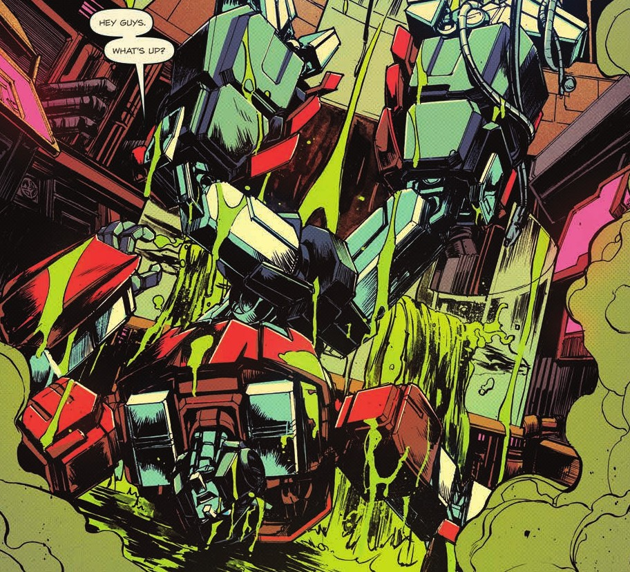 Transformers News: Review of IDW Optimus Prime #9