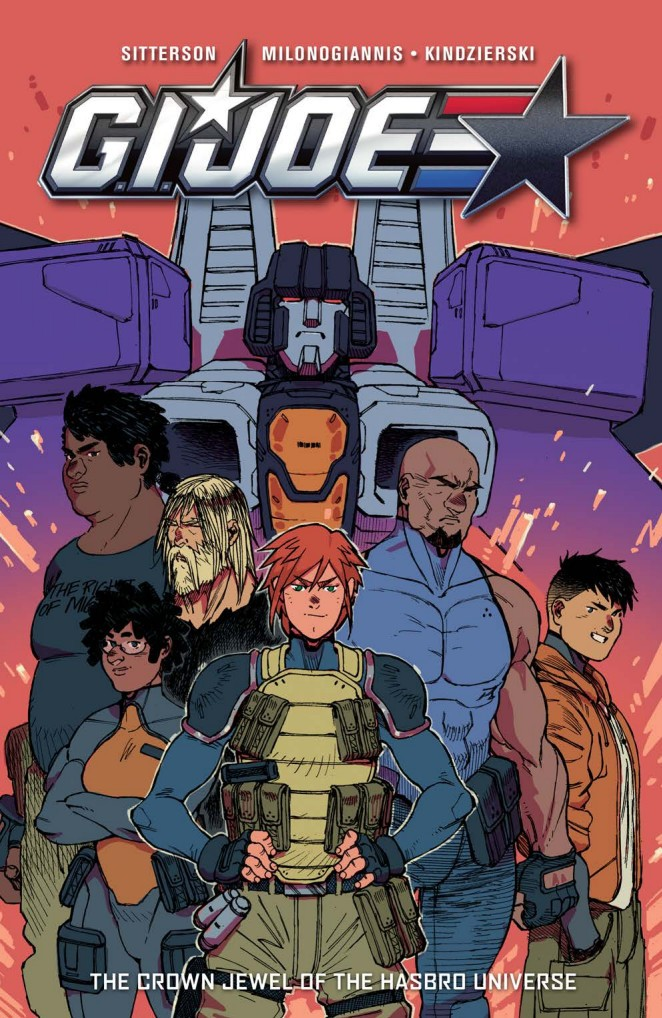 Transformers News: Full Preview of IDW GI Joe Volume 1 TPB #TCJHU