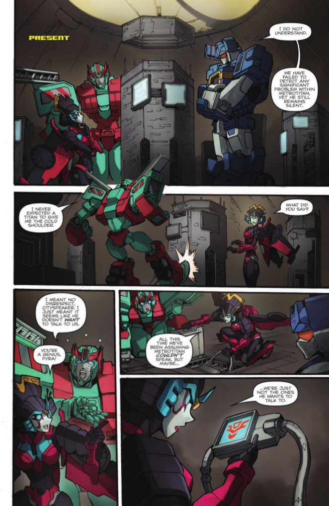 Transformers News: Full Preview of IDW Transformers: Till All Are One Volume Two TPB