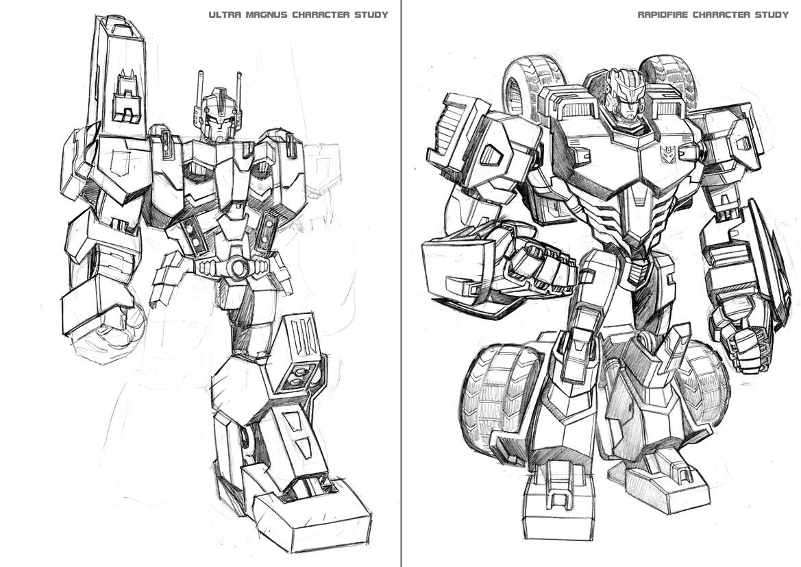 Transformers News: IDW Transformers: Lost Light Series Art Bible by Jack Lawrence Available Soon
