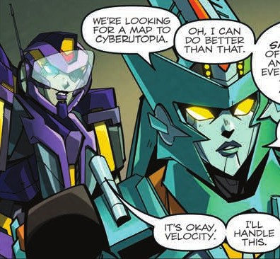 Transformers News: Review for IDW Transformers: Lost Light #8