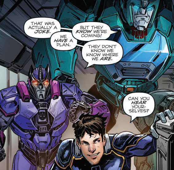 Transformers News: Review of IDW Hasbro Universe's Revolutionaries #6
