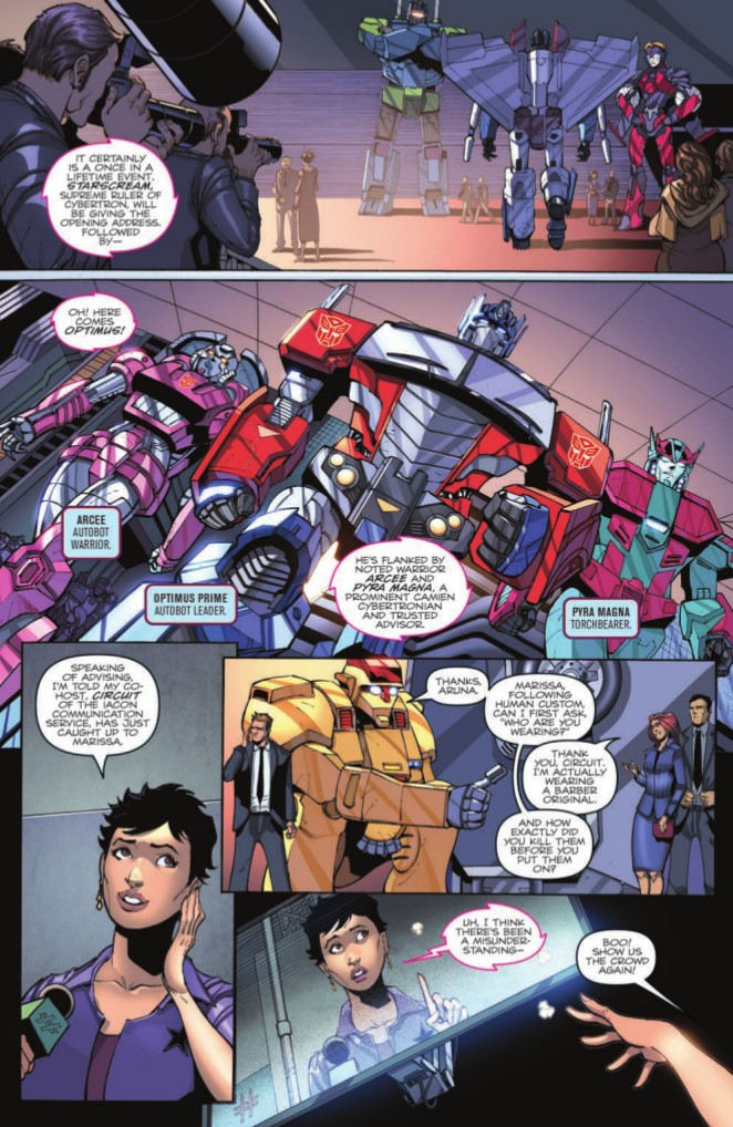 Transformers News: Interview with IDW First Strike Writers Mairghread Scott, David Rodriguez #HasbroFirstStrike