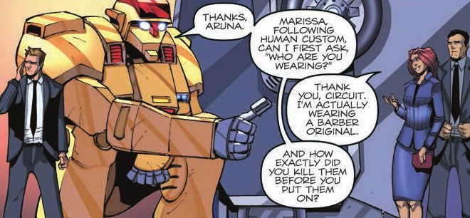 Transformers News: Review of IDW First Strike #1, featuring Transformers, GI Joe #HasbroFirstStrike