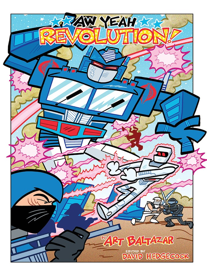 Transformers News: IDW Revolution Aw Yeah! Issue #3 iTunes Preview