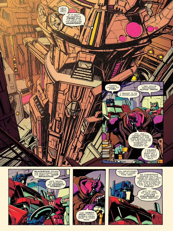 Transformers News: IDW Optimus Prime #10 3-Page Preview and New Kei Zama Cover