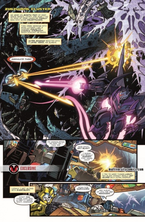 Transformers News: Full Preview for IDW Rom Vs Transformers: Shining Armor #2