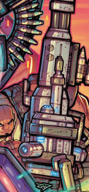 Transformers News: Re: IDW Hasbro Universe First Strike Thread