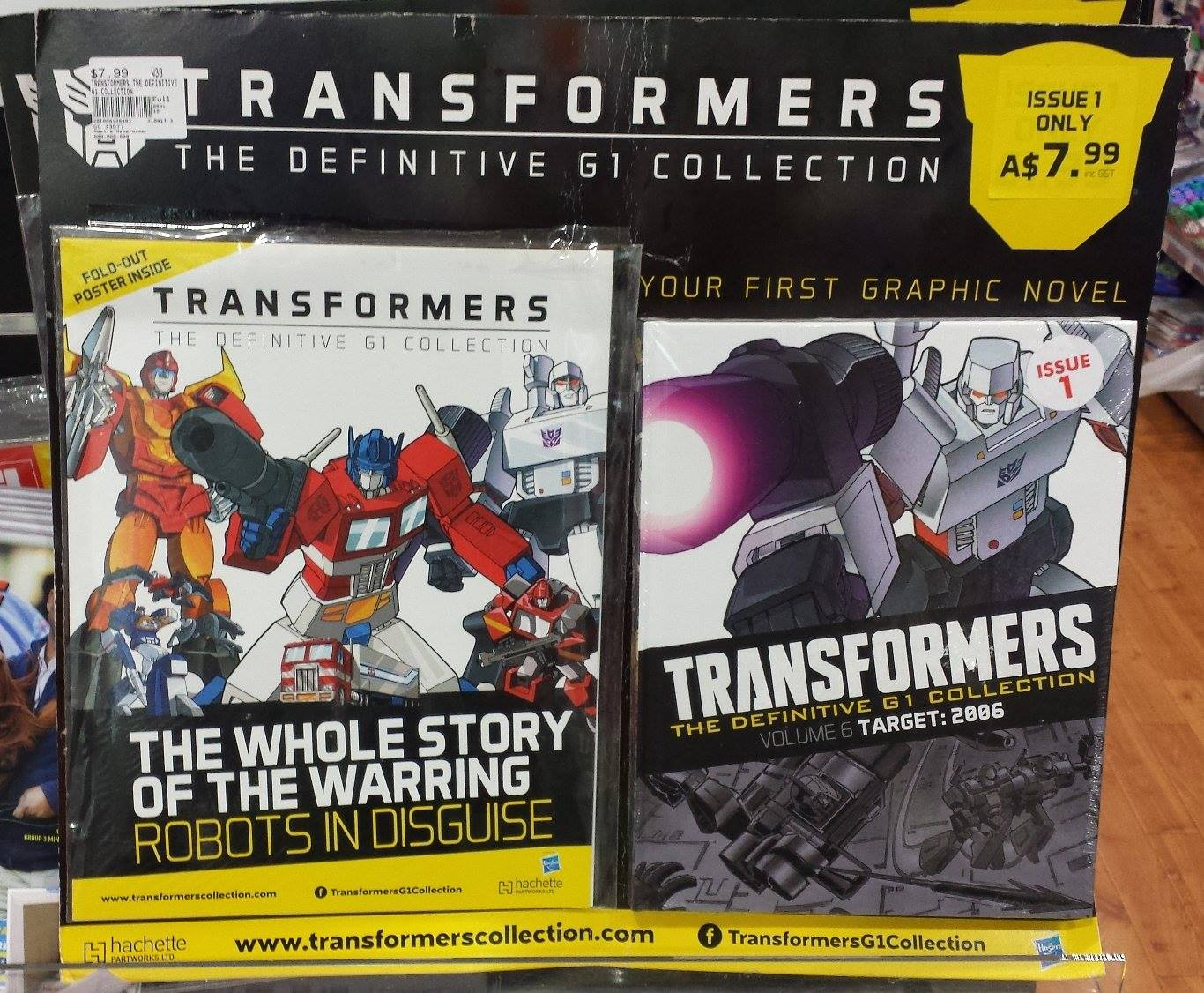Transformers News: Transformers: The Definitive G1 Comics Collection Out in Australia