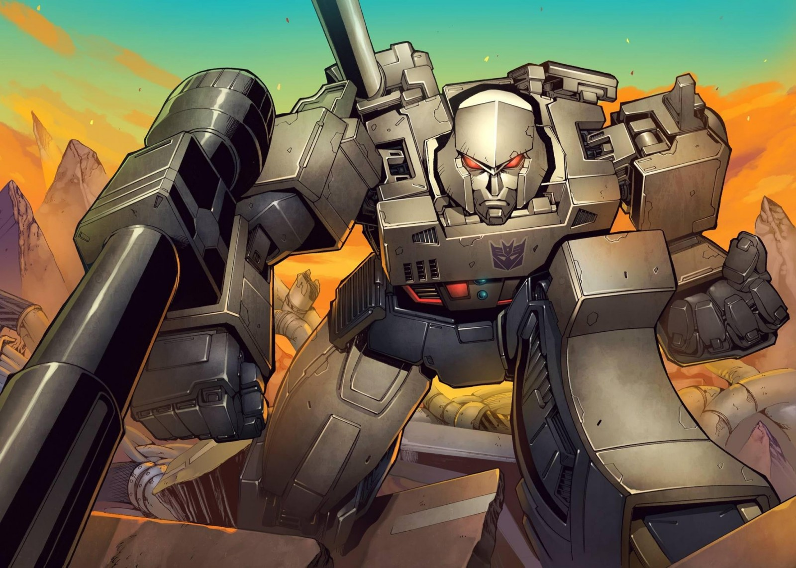 Transformers News: Naoto Tsushima Metallic Art Prints for Sale