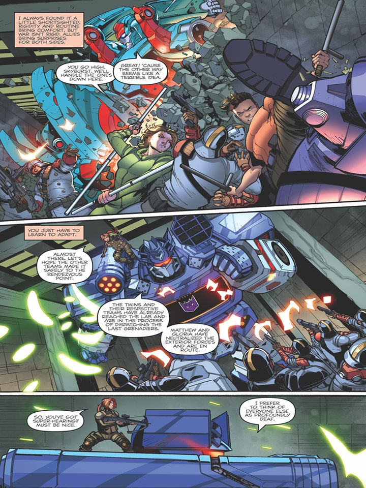 Transformers News: Three Page iTunes Preview for IDW First Strike #3 #HasbroFirstStrike