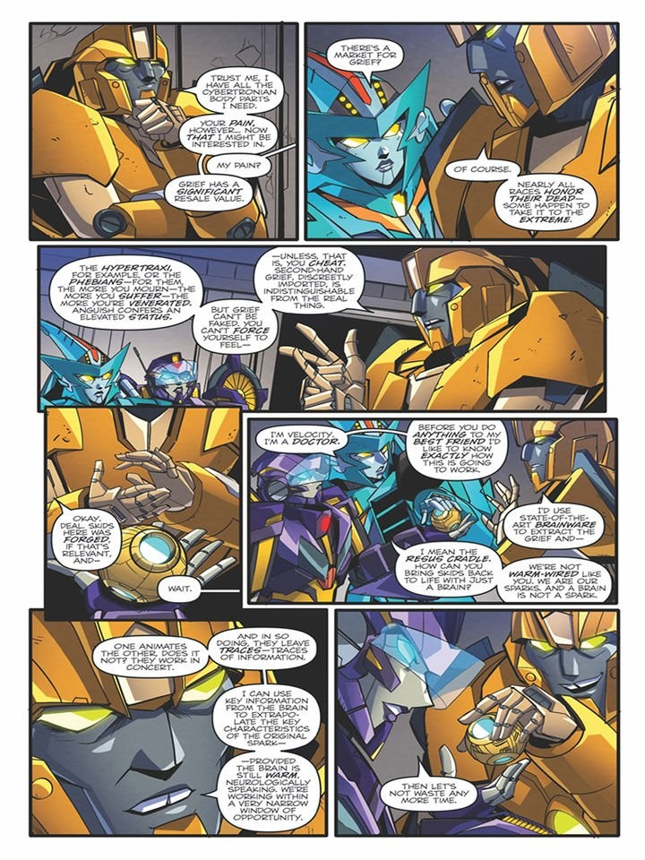 Transformers News: iTunes Preview for IDW Transformers: Lost Light #9