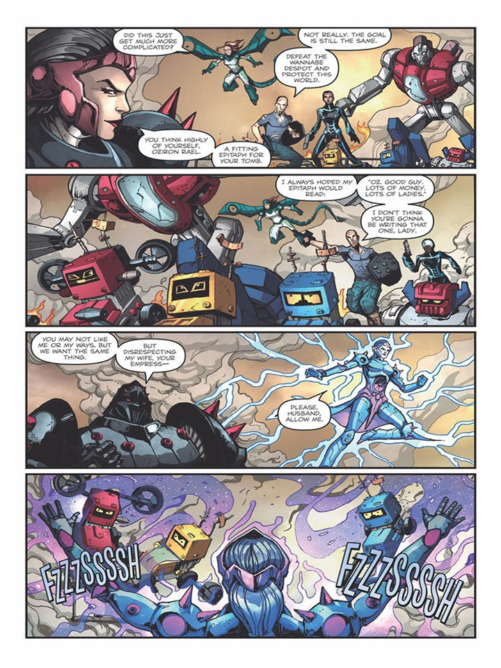 Transformers News: Micronauts: Wrath of Karza #5 iTunes Preview