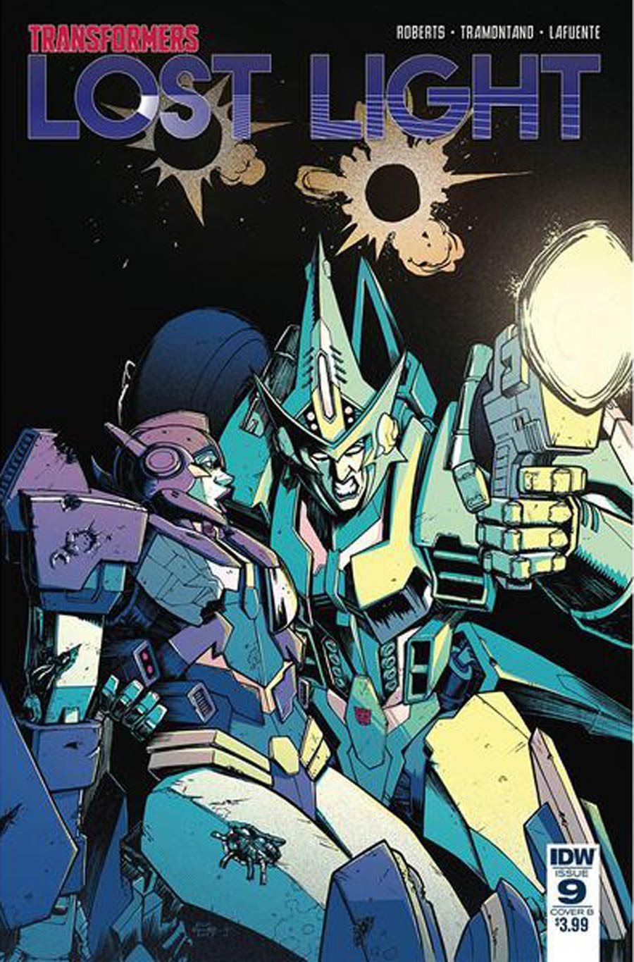 Transformers News: Variant Covers For IDW Transformers: Lost Light #9