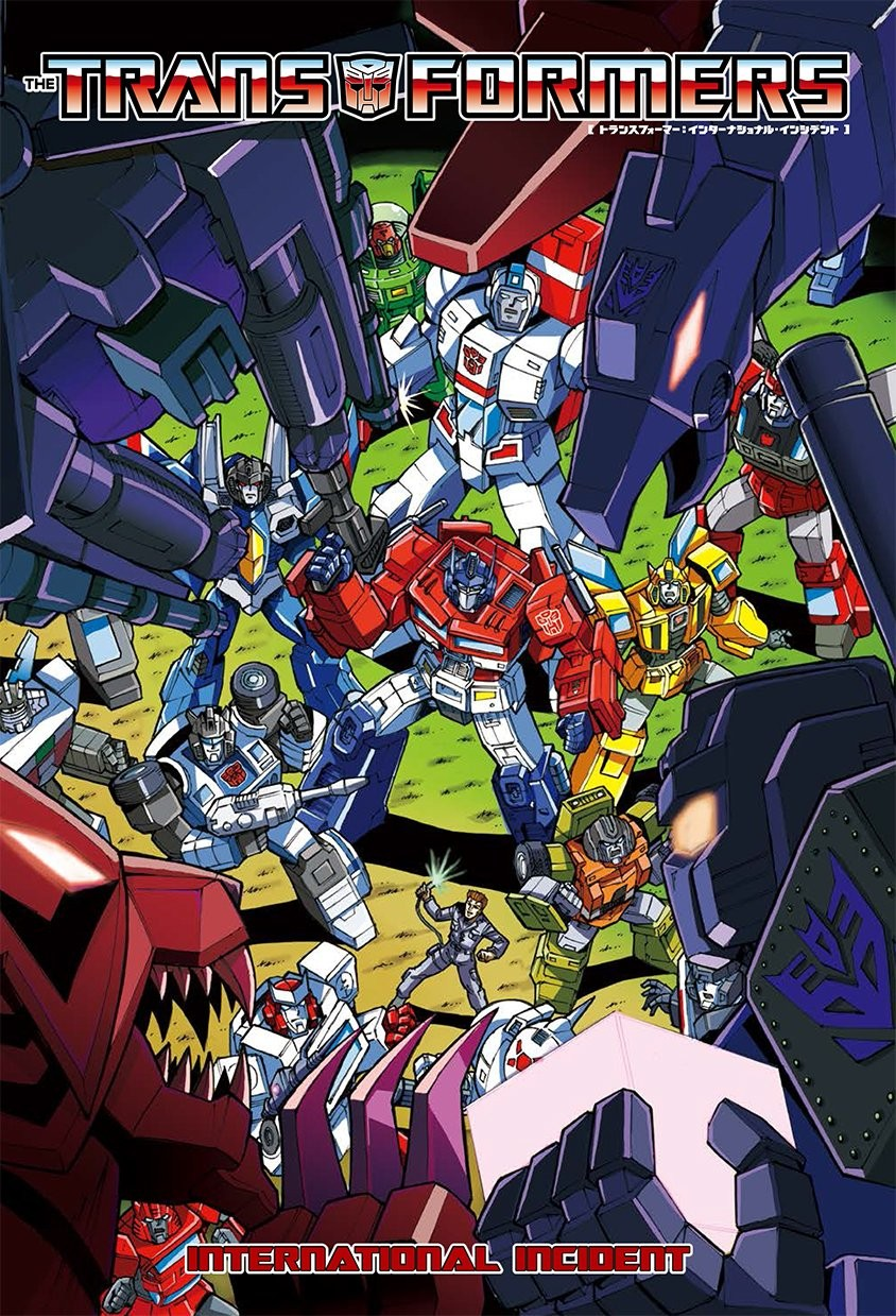 Transformers News: IDW Transformers Comics in Japanese Translation - International Incident, with New Hayato Sakamoto C