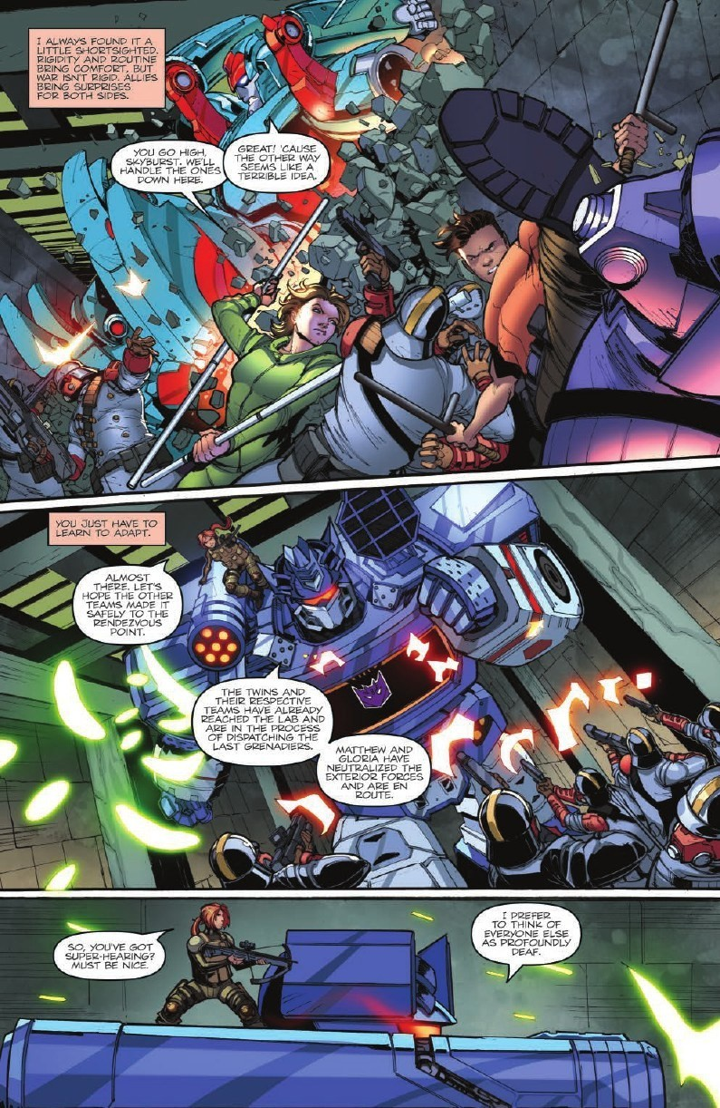 Transformers News: Full Preview for IDW First Strike #3 #HasbroFirstStrike