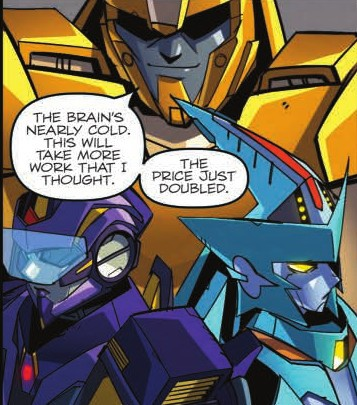Transformers News: Review of IDW Transformers: Lost Light #9